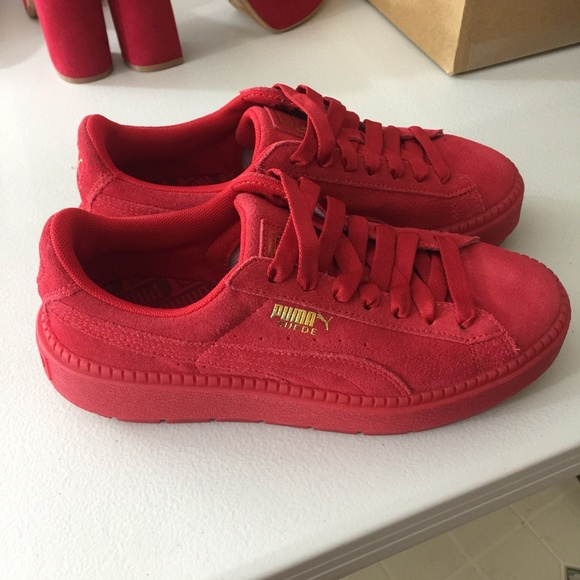 6a238c810a9 Suede Platform Trace Valentine's Day Sneaker. M_5ac7090385e60526cb0c8b9c.  Other Shoes you may like. Women's shoes. Women's shoes. $32 $0. Puma ...